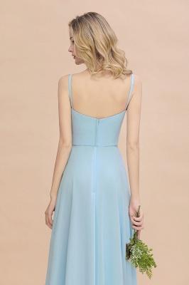 Blaue Brautjungfernkleider Lang Günstig | Kleider für Brautjungfern_9