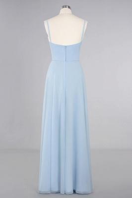 Blaue Brautjungfernkleider Lang Günstig | Kleider für Brautjungfern_11