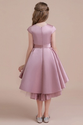 Flower girl dress dusty pink | Kids flower girl dresses cheap_3