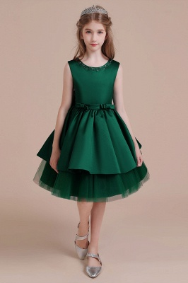 Girl flower girl dress green | Flower girl dresses for children