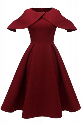 Retro vintage dresses | Rockabilly dress red_1