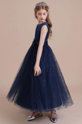 Blumenmädchen Kleid Blau | Blumenmädchen Kleider Hochzeit_5