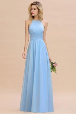 Brautjungfernkleider Lang Heller Blau | Kleider für Brautjungfern Günstig_6