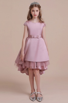 Flower girl dress dusty pink | Kids flower girl dresses cheap_2