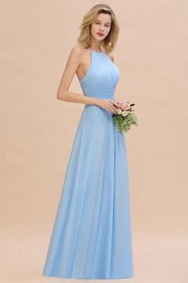 Brautjungfernkleider Lang Heller Blau | Kleider für Brautjungfern Günstig_8