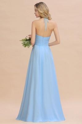 Brautjungfernkleider Lang Heller Blau | Kleider für Brautjungfern Günstig_4