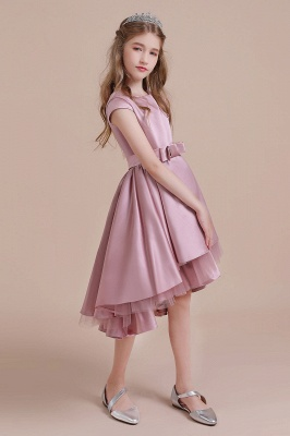 Flower girl dress dusty pink | Kids flower girl dresses cheap_4