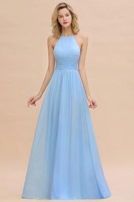 Brautjungfernkleider Lang Heller Blau | Kleider für Brautjungfern Günstig