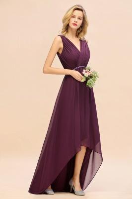 Brautjungfernkleider Hi-lo Günstig   Hochzeitspartykleider Online_4