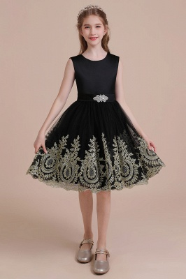 Black flower girl dresses cheap | Flower girl dress tulle