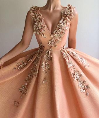 Elegant Evening Dresses Long V Neck | Prom dresses glitter_2