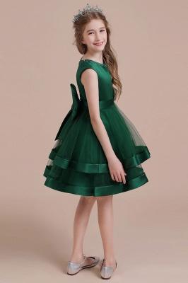 Grüne Blumenmädchenkleider Für Kind  | Blumenmädchen Kleid Lang_7