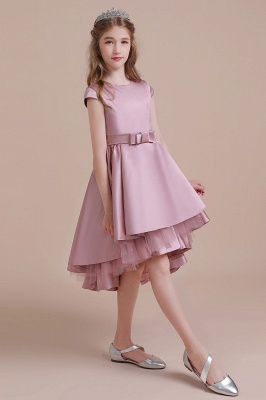 Flower girl dress dusty pink | Kids flower girl dresses cheap_6