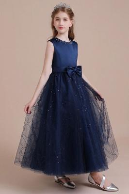 Blumenmädchen Kleid Blau | Blumenmädchen Kleider Hochzeit_4