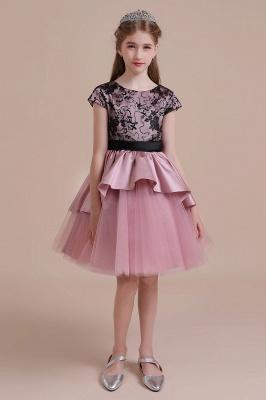 Blumenmädchen Kleid Spitze Rosa | Blumenmädchenkleider für Kinder_4