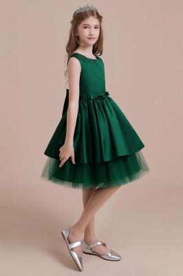 Mädchen Blumenmädchen Kleid Grün | Blumenmädchenkleider für Kinder_4