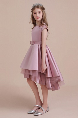 Flower girl dress dusty pink | Kids flower girl dresses cheap_7