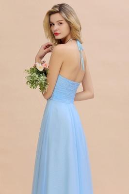 Brautjungfernkleider Lang Heller Blau | Kleider für Brautjungfern Günstig_10