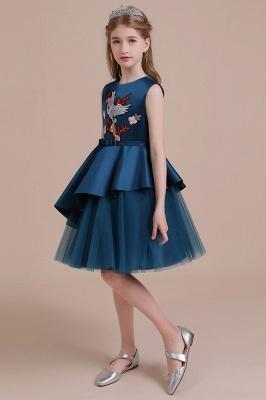 Blumenmädchen Kleid Türkis | Günstige Blumenmädchenkleider_6