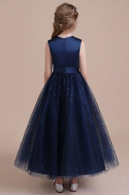 Blumenmädchen Kleid Blau | Blumenmädchen Kleider Hochzeit_3
