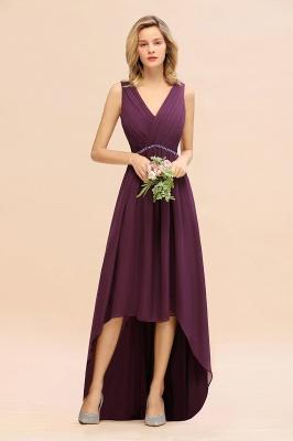 Brautjungfernkleider Hi-lo Günstig   Hochzeitspartykleider Online_1