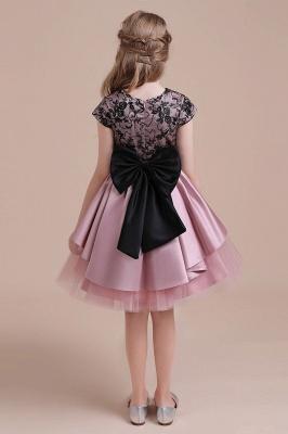 Blumenmädchen Kleid Spitze Rosa | Blumenmädchenkleider für Kinder_3
