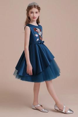 Blumenmädchen Kleid Türkis | Günstige Blumenmädchenkleider_7