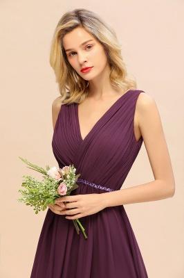 Brautjungfernkleider Hi-lo Günstig   Hochzeitspartykleider Online_6