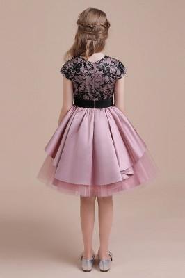 Blumenmädchen Kleid Spitze Rosa | Blumenmädchenkleider für Kinder_9