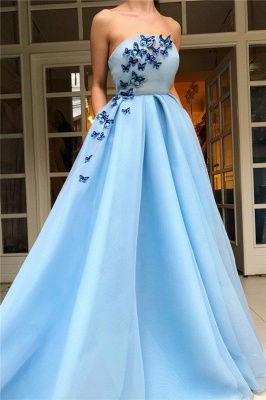 Beautiful evening dresses long blue | Prom Dresses Cheap Online