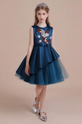 Blumenmädchen Kleid Türkis | Günstige Blumenmädchenkleider_5