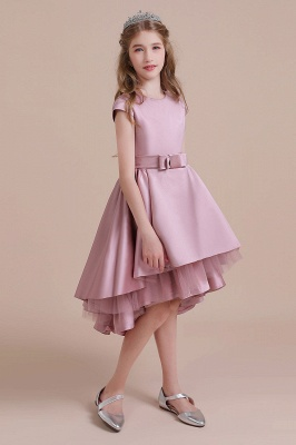Flower girl dress dusty pink | Kids flower girl dresses cheap_5