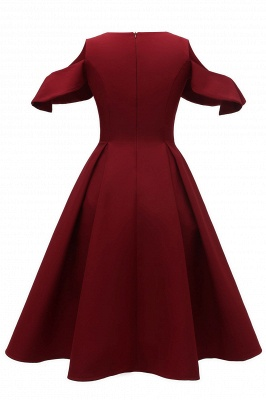 Retro vintage dresses | Rockabilly dress red_6