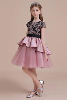 Blumenmädchen Kleid Spitze Rosa | Blumenmädchenkleider für Kinder_6