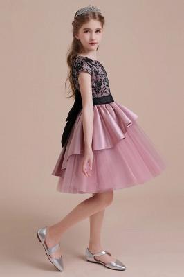 Blumenmädchen Kleid Spitze Rosa | Blumenmädchenkleider für Kinder_7