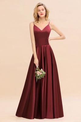 Schöne Brautjungfernkleider Lang Rot | Brautjungfernkleid Günstig