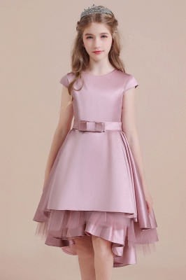 Flower girl dress dusty pink | Kids flower girl dresses cheap_8