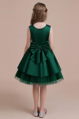 Mädchen Blumenmädchen Kleid Grün | Blumenmädchenkleider für Kinder_3