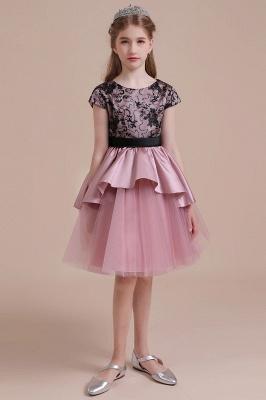 Blumenmädchen Kleid Spitze Rosa | Blumenmädchenkleider für Kinder_5