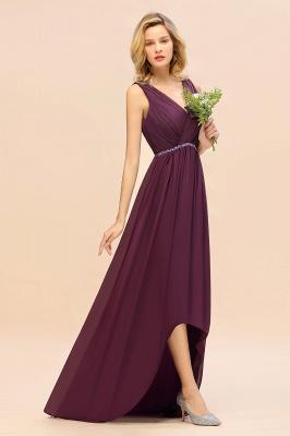 Brautjungfernkleider Hi-lo Günstig   Hochzeitspartykleider Online_7