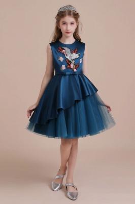 Blumenmädchen Kleid Türkis | Günstige Blumenmädchenkleider