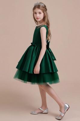 Mädchen Blumenmädchen Kleid Grün | Blumenmädchenkleider für Kinder_6