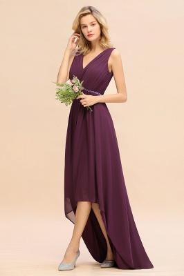 Brautjungfernkleider Hi-lo Günstig   Hochzeitspartykleider Online_5
