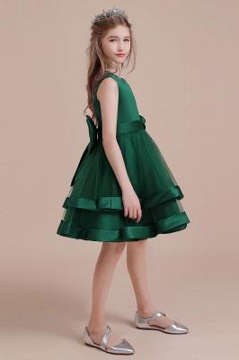 Grüne Blumenmädchenkleider Für Kind  | Blumenmädchen Kleid Lang_6