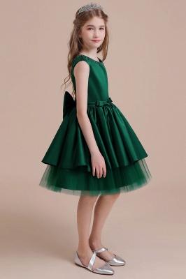 Mädchen Blumenmädchen Kleid Grün | Blumenmädchenkleider für Kinder_5