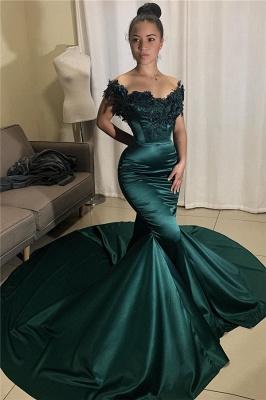Modern evening dresses green | Prom dresses long cheap_1