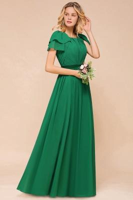 Brautjungfernkleider Lang Grün   Kleider für Brautjungfern_6