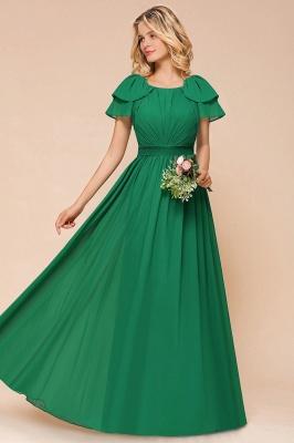 Brautjungfernkleider Lang Grün   Kleider für Brautjungfern_4