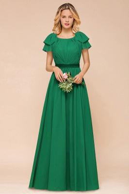 Brautjungfernkleider Lang Grün   Kleider für Brautjungfern_1