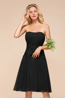 Schöne Brautjungfernkleider Kurz Schwarz   Kleider Für Brautjungfern_6